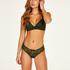 Kate brazilian-trosa, grön
