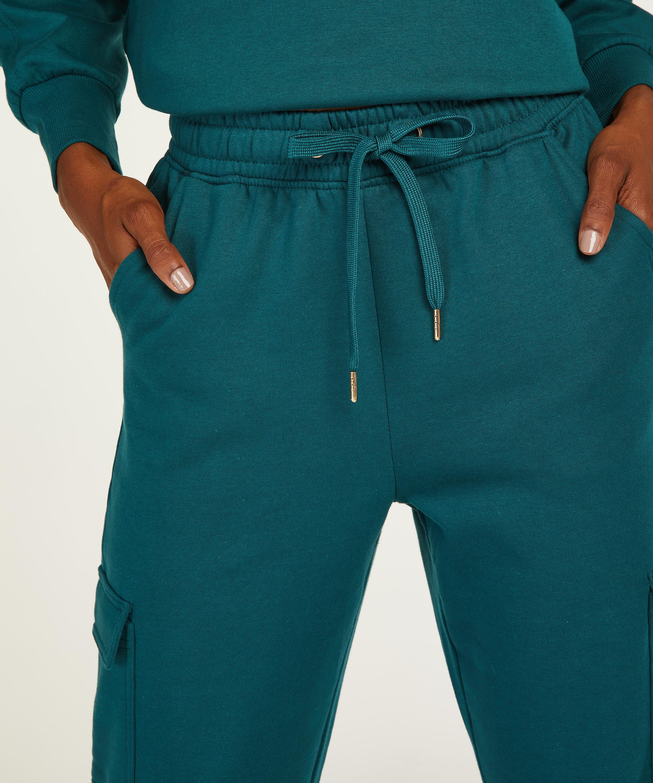 Tall corgo-joggingbyxor, blå, main