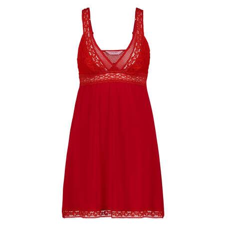Underklänning Graphic Lace, röd
