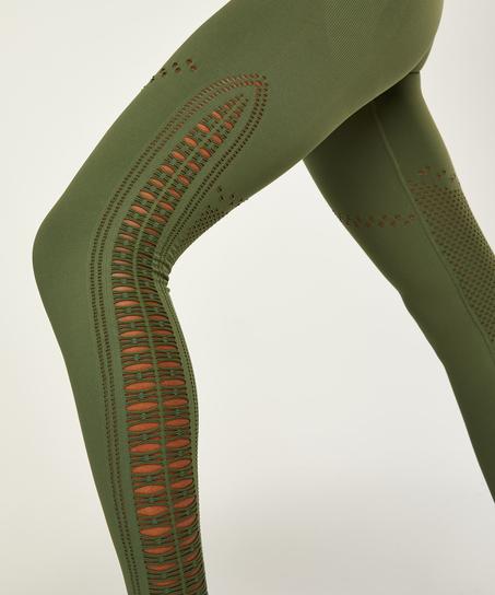 HKMX Karma sömlösa leggings med hög midja, grön