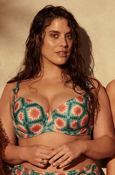 Hunkemöller Paramaribo vadderad bikini-topp med bygel I AM Danielle Vit