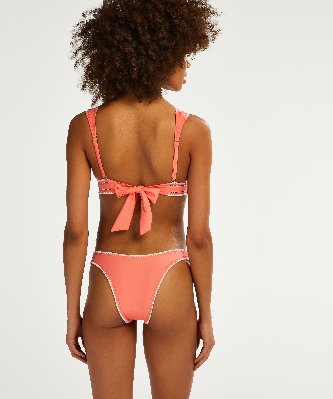 Maya triangel-bikiniöverdel, Rosa, main