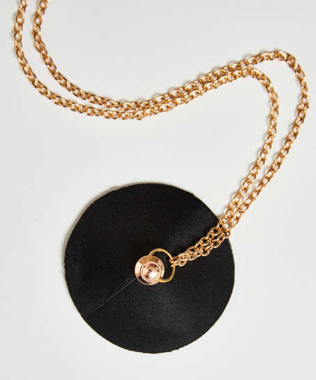 Nipple-covers Private Chain, Svart