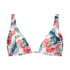 Vintage triangel-bikiniöverdel, Vit