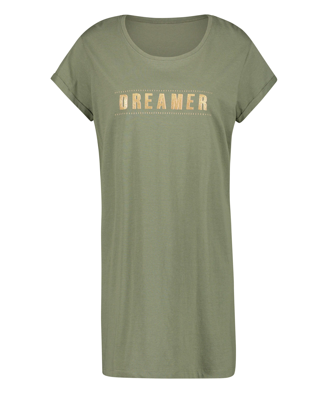 Dreamer nattskjorta, grön, main