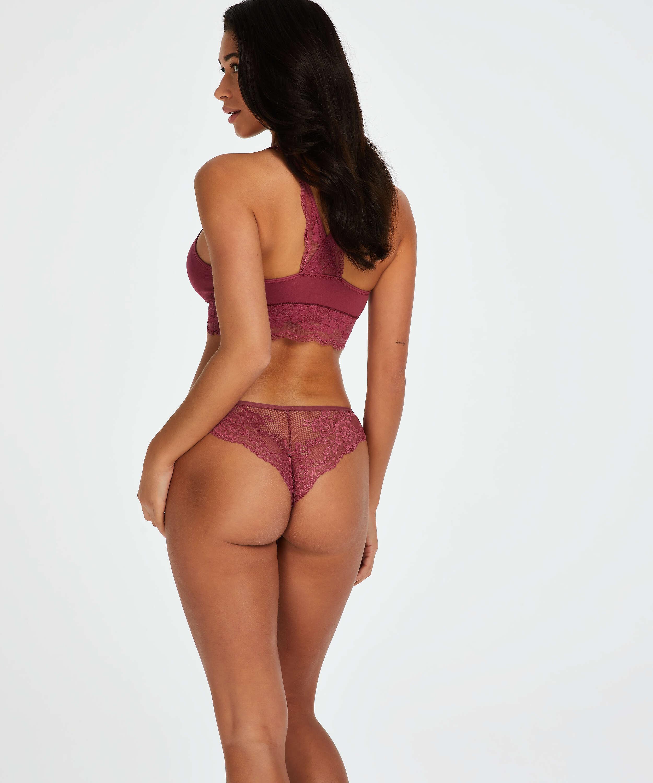 Brazilian-trosa Bianca, röd, main