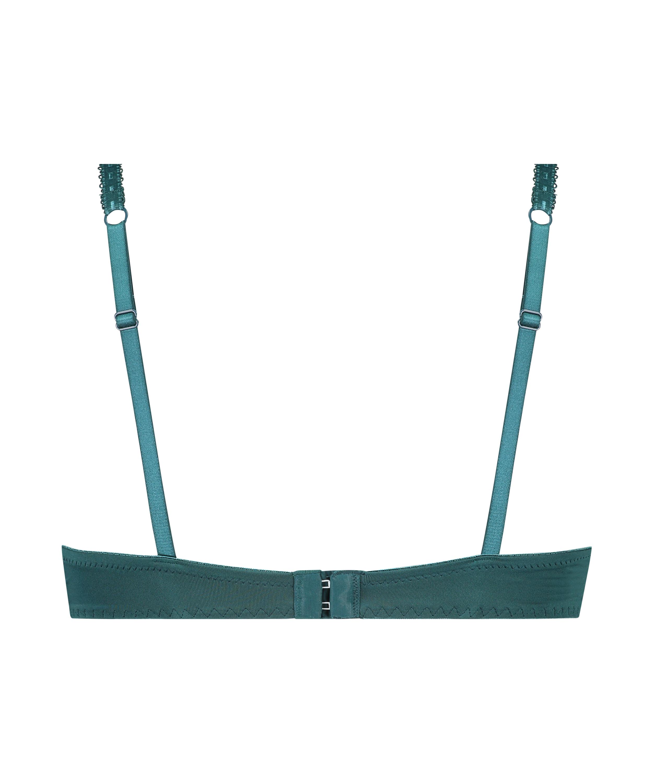 Formpressad bygel-bh med push-up Maya, blå, main