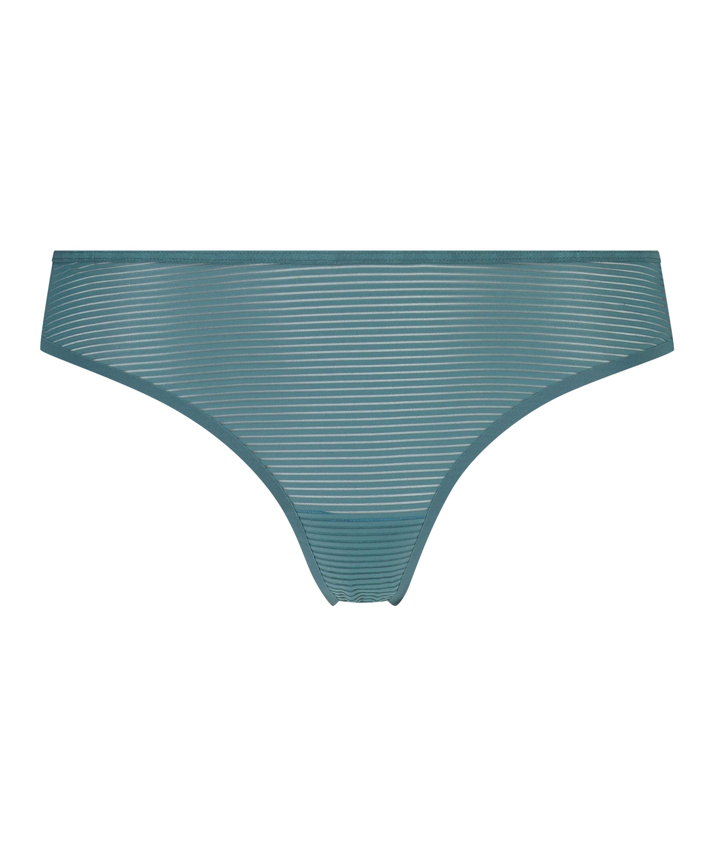 Stringtrosa Invisible Burned Out Stripe, blå, main
