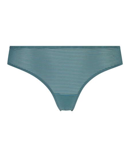Stringtrosa Invisible Burned Out Stripe, blå