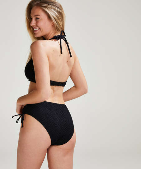 Crochet Bikini Top , Svart