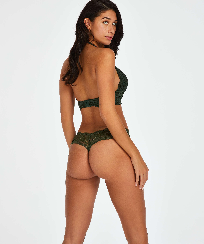 Boxerstringtrosa Florence, grön, main