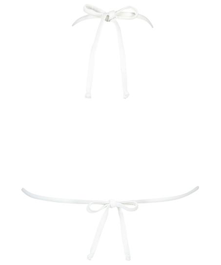 Maldives triangel-bikiniöverdel, Vit