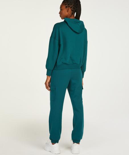 Tall corgo-joggingbyxor, blå