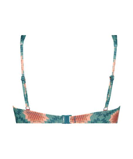 Paramaribo vadderad bikini-topp med bygel I AM Danielle, Vit