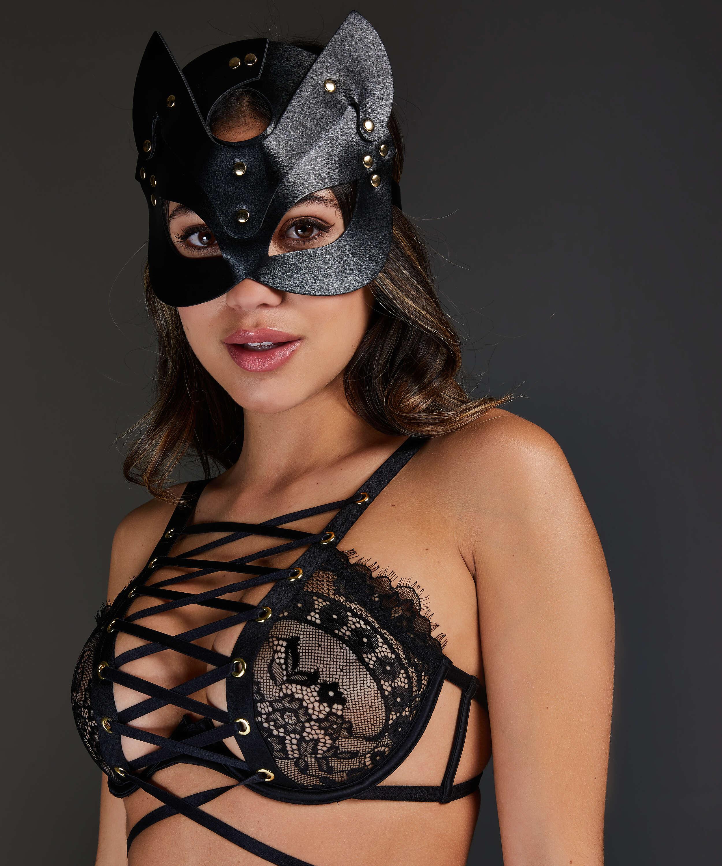 Private Kitten Mask, Svart, main