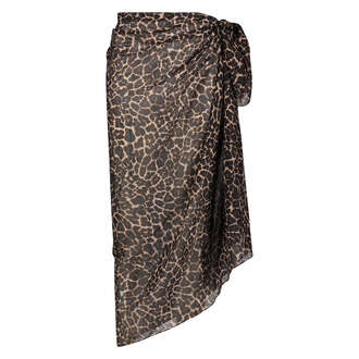Sarongen Leopard, Svart