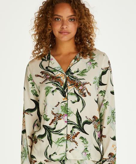 Dragonfly  långärmad pyjamastopp, Rosa