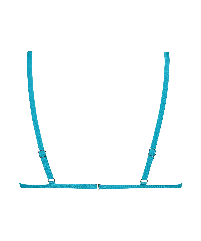 Celine triangel-bikiniöverdel, blå, main