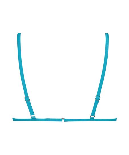 Celine triangel-bikiniöverdel, blå