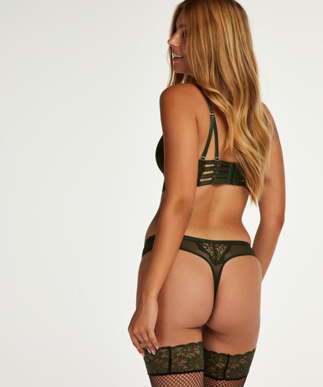 Ollie stringtrosa, grön