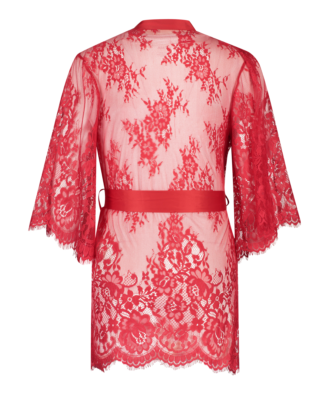 Kimono Lace Isabelle, röd, main