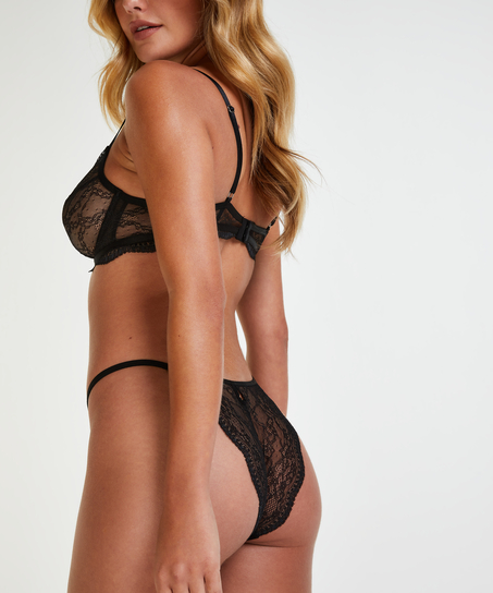 Isabelle brazilian-trosa, Svart