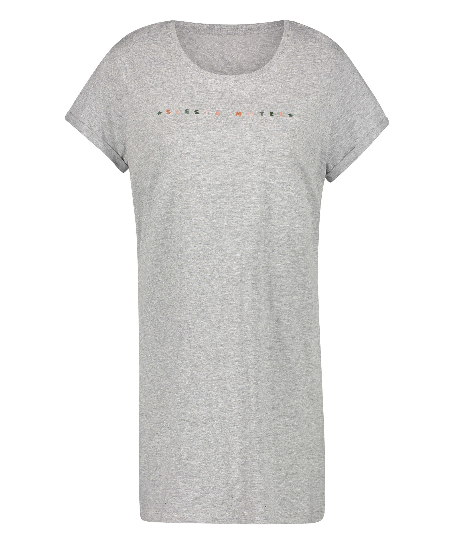 Siesta nattskjorta, Grå, main