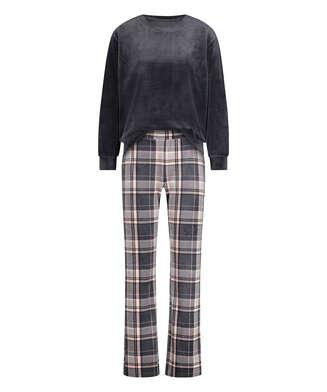 Pyjamasset i sammet, Grå