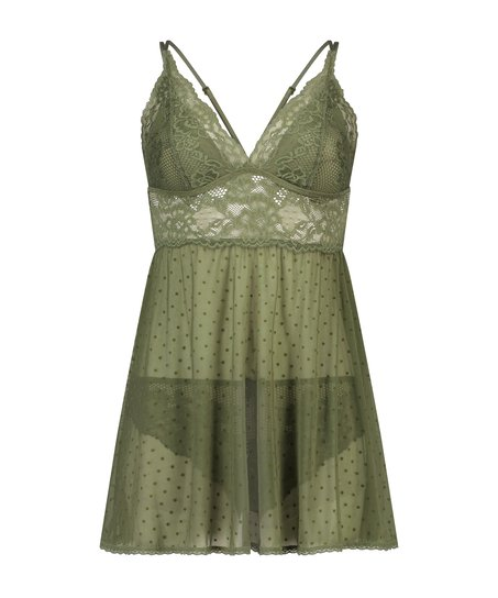 Babydoll Beatriz, grön