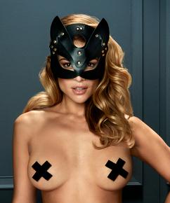 Private Kitten Mask, Svart