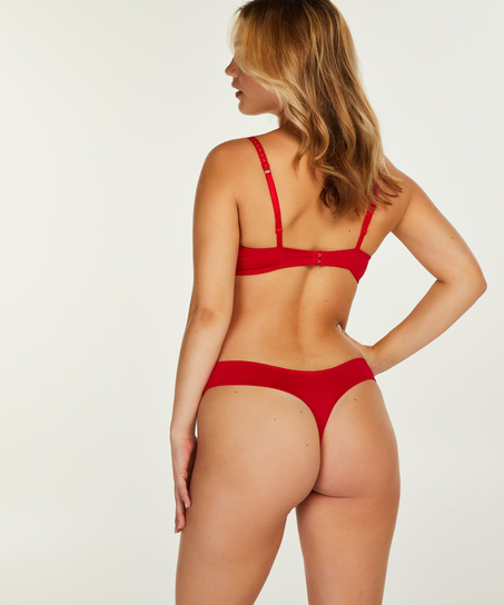 Formpressad bygel-bh med push-up Maya, röd