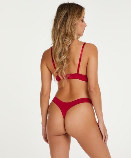 Formpressad bygel-bh Gina, röd