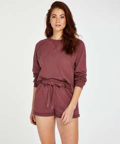 Sweat French Shorts, Rosa