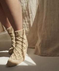 Sockor Knit, Beige