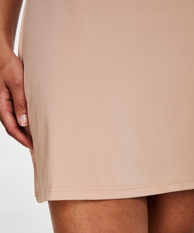 Utslätande underklänning - Level 1, Beige, main