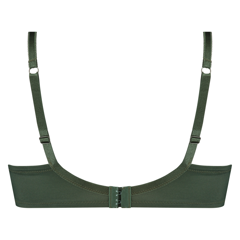 Icke-formpressad bygel-bh Sophie, grön, main
