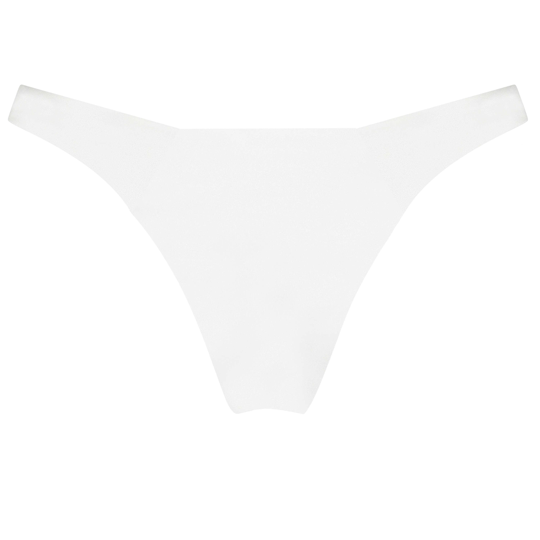 Lola bikini-underdel med höga ben., Vit, main