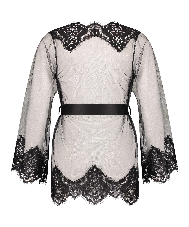 Kimono Verity, Svart, main
