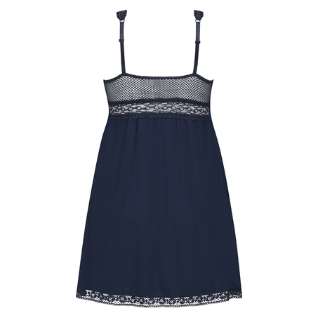 Underklänning Graphic Lace, blå