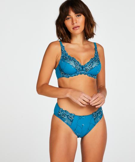 Icke-formpressad bygel-bh Diva, blå