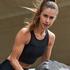HKMX cropped träningslinne Shine on Sports, Svart