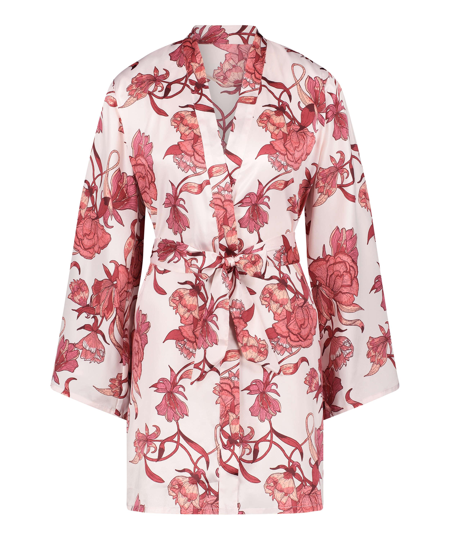 Kimono med zinnia, Rosa, main