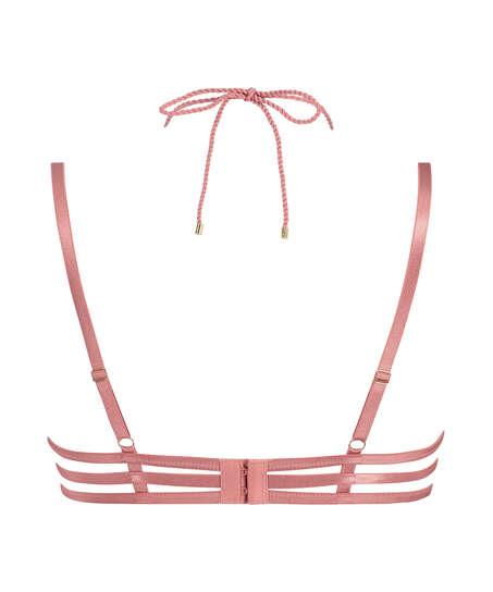 Alabama non-padded underwired bra, Rosa