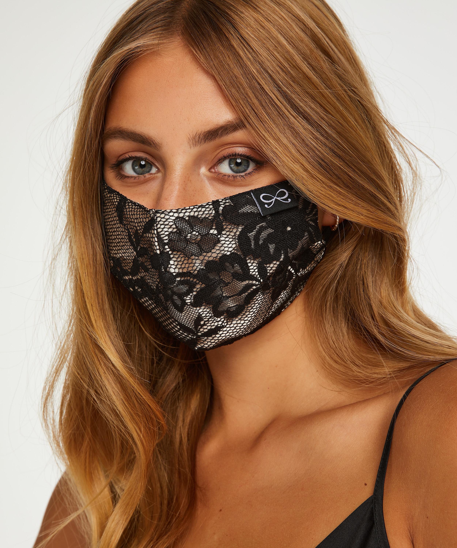 Mask satäng, Svart, main