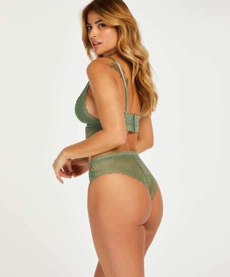 Philomena bralette I AM Danielle, grön
