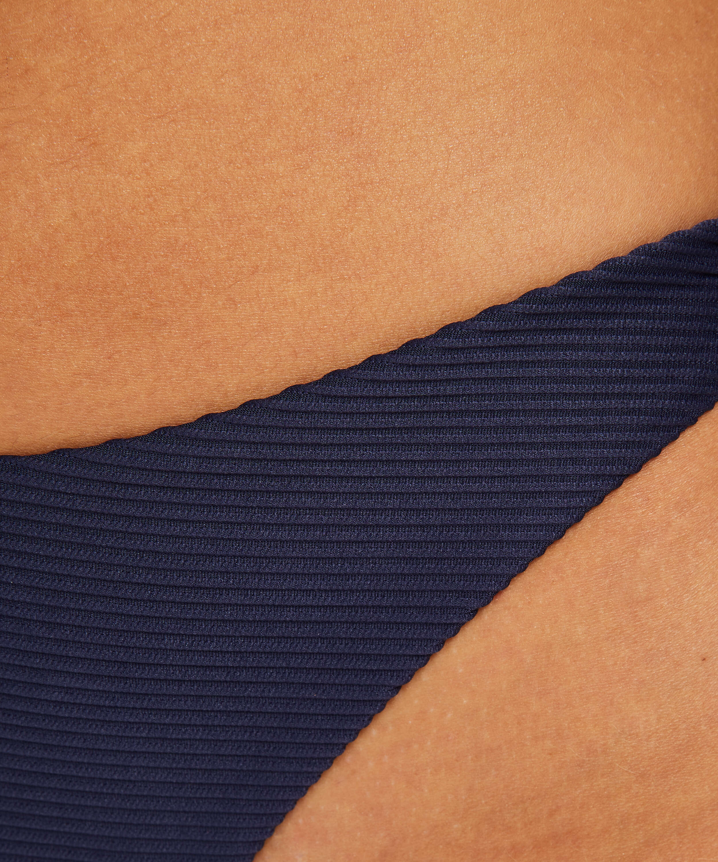 Harper högt skuren brazilian bikniunderdel, blå, main