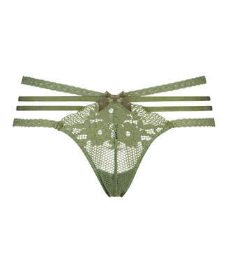 Bonnie låg stringtrosa, grön