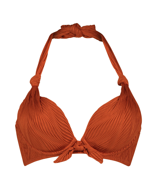 Galibi vadderas pushup-bikinitopp med bygel I AM Danielle Storlek A - E, Orange, main