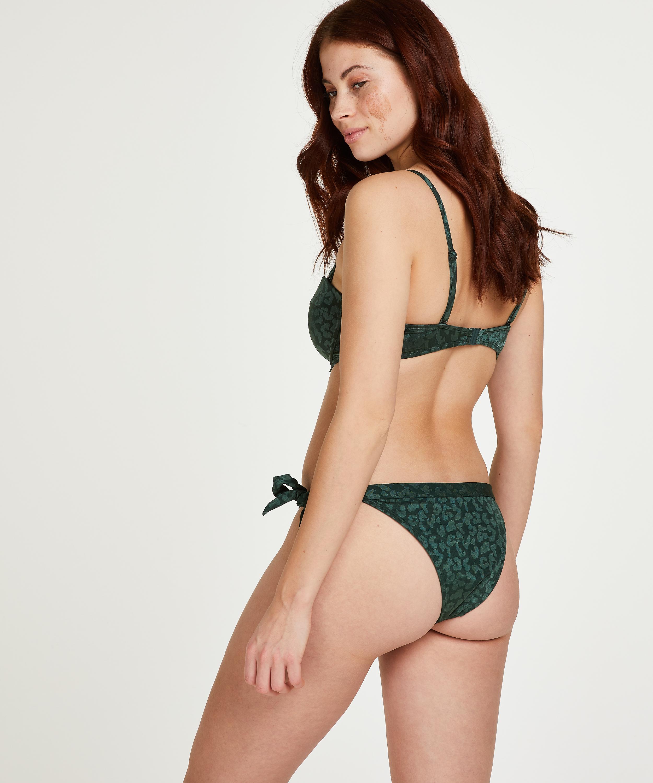 Tonal Leo formpressad bikiniöverdel med bygel och push-up Storlek A - E, grön, main
