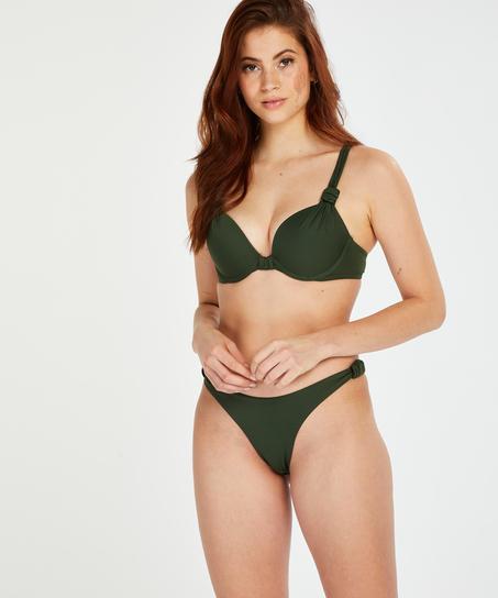 Luxe push-up bikini-överdel Storlek A - E, grön